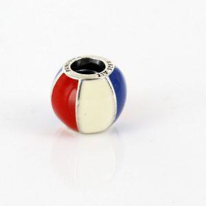 PANDORA Genuine S925 ALE Silver Enamel Beach Ball Charm 791146ENMX RRP£55!!!