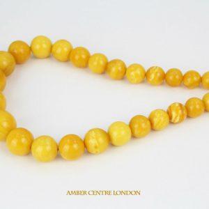 Antique German Konigsberg Butterscotch Baltic Amber Necklace A0608 RRP£12500!!!