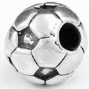 Genuine Trollbeads Silver 925S LAA Soccer Ball Charm 11519 RRP£68!!!