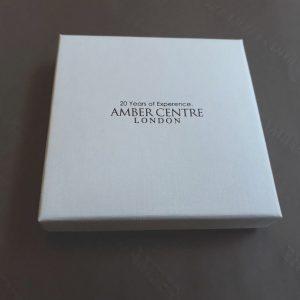 RED Handmade GERMAN BALTIC AMBER PENDANT 925 SILVER- RP006 RRP £245!!